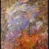 Het beest overwonnen, olieverf 70 x 90 cm, particulier bezit