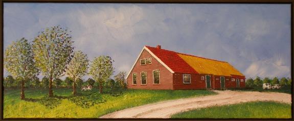 Boerderij Zuidwolde, 40 x 100 cm, particulier bezit